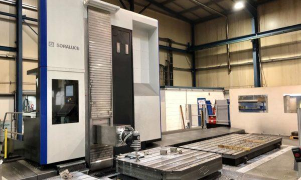 Inbetriebnahme neues CNC-Bohr- und Fräswerk Bimatec Soraluce FP 8000 März 2020