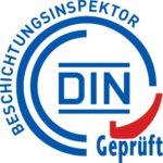 Logo Zertifizierung Beschichtungsinspektor