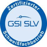Logo Zertifizierung Schweißfachbetrieb