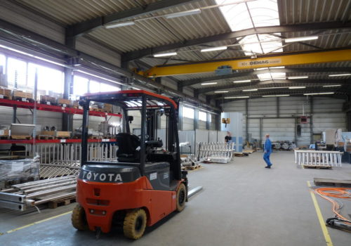 Separater Standort Edelstahlverarbeitung