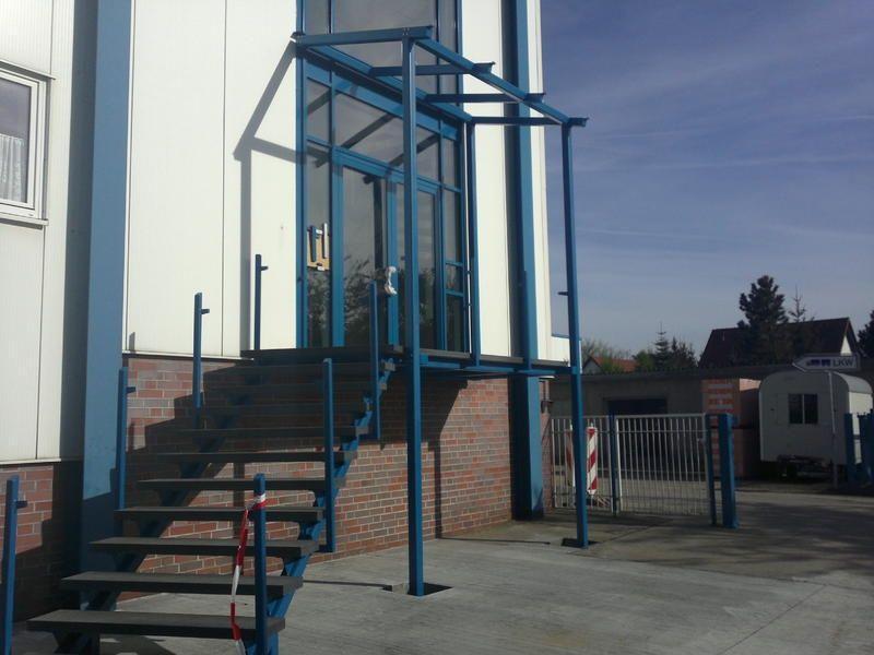Umgestaltung Eingangsportal 2015
