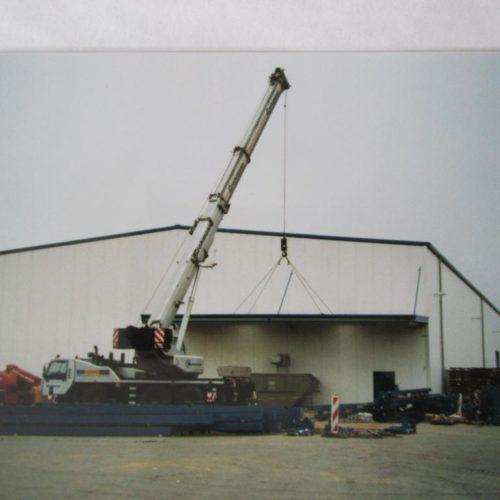 Neubau Produktionshalle für Großteilfertigung 2009