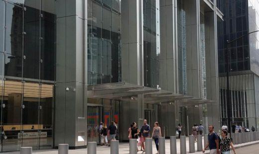 Eingangsportal World Trade Center