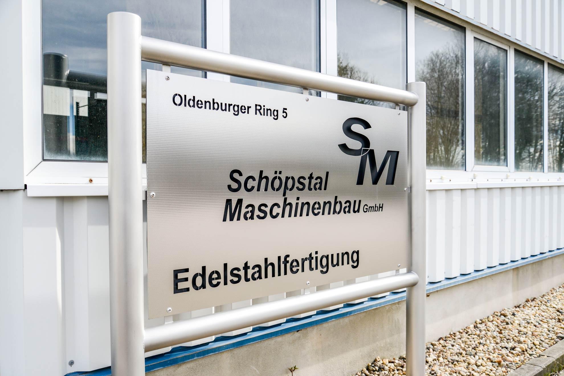 Separater Produktionsstandort Edelstahlverarbeitung